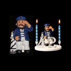 Le marin au phare pour anniversaire