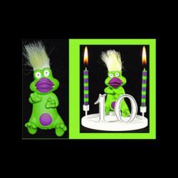 Le Punki grenouille pour anniversaire
