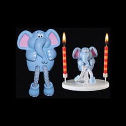 L'éléphant de la ménagerie pour anniversaire