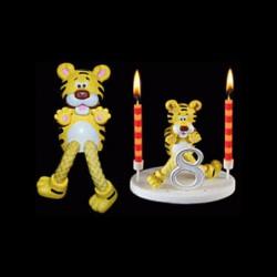 Le tigre de la ménagerie pour anniversaire
