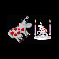 La vache folle amoureuse pour anniversaire