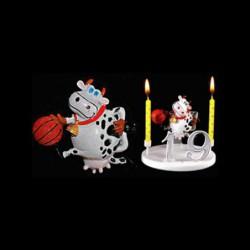 La vache folle basketteuse pour anniversaire