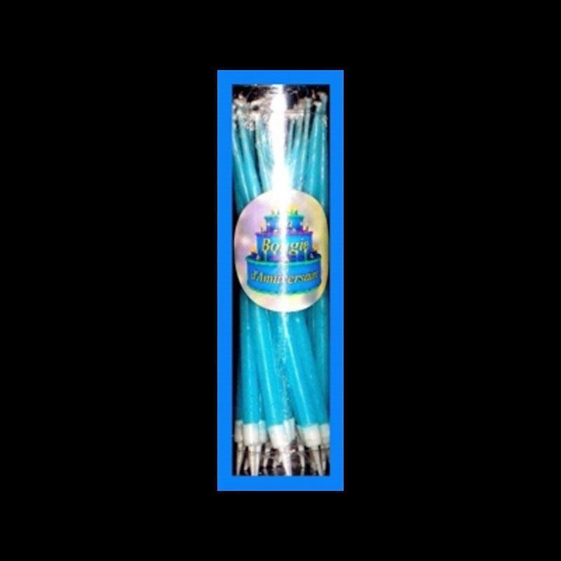 18 Bougies Bouquet Bleu