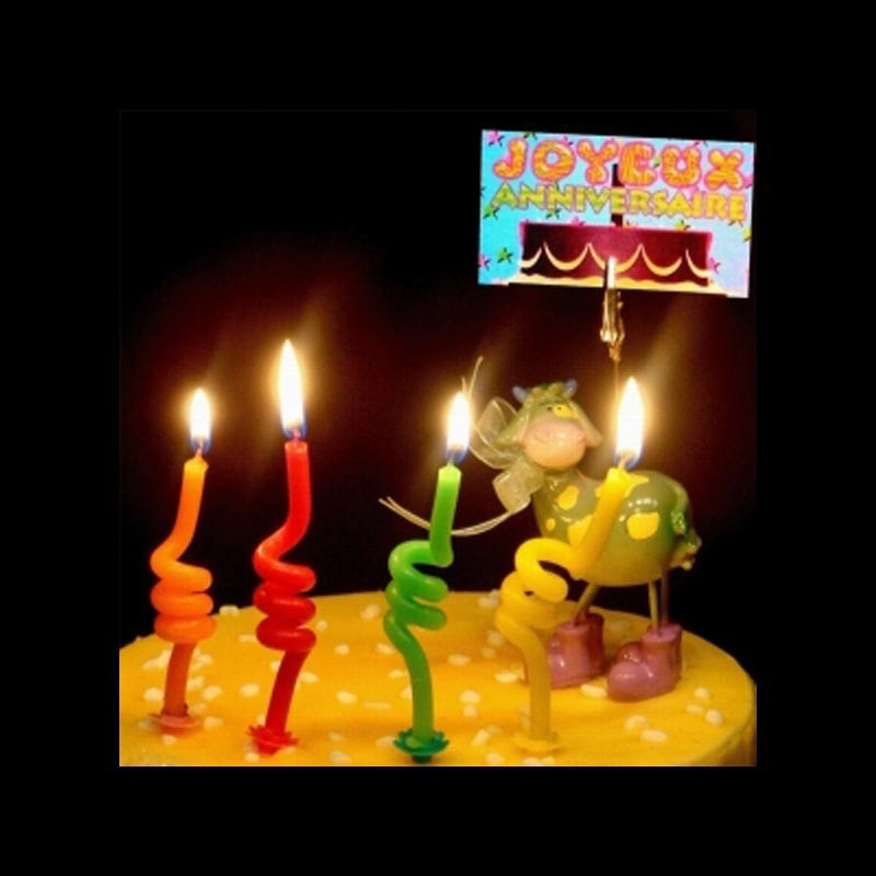 Les bougies spirales