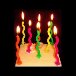 Les bougies zigzags