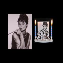 Audrey Hepburn pour anniversaire