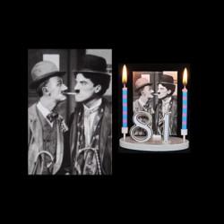 Mack Sennett et charlot pour anniversaire