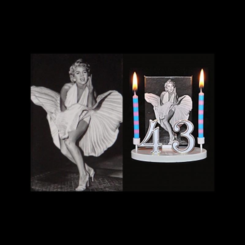 Marilyn Monroe pour anniversaire