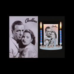Casablanca (h.Bogart et i.Bergman) pour anniversaire