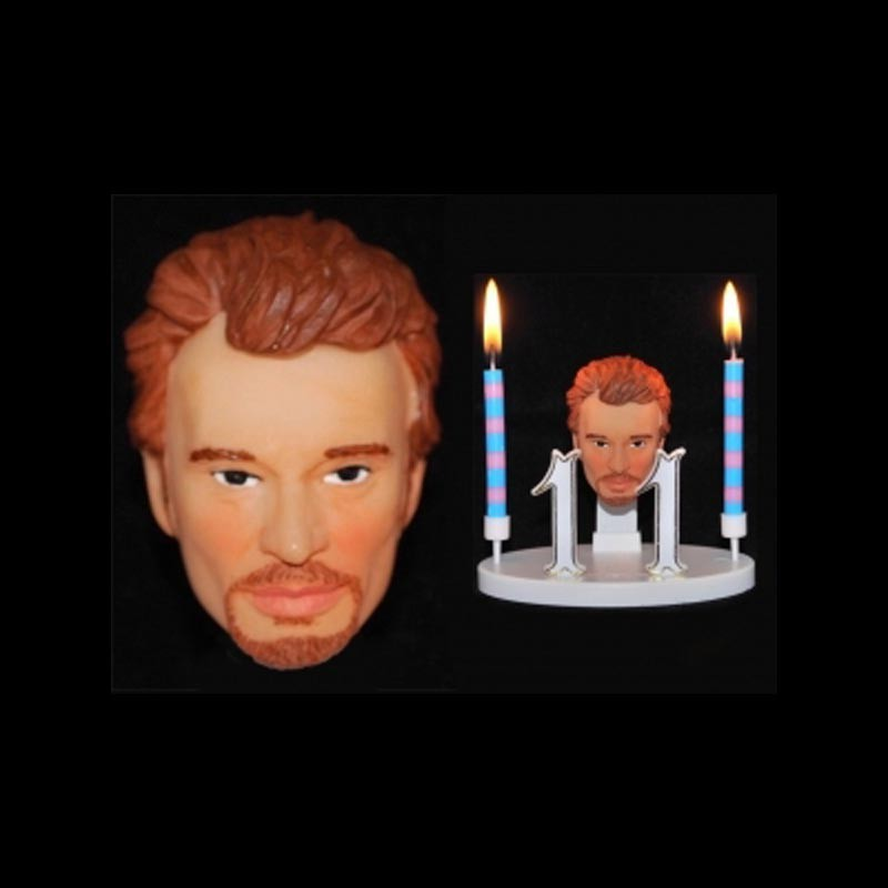 Johnny Hallyday pour anniversaire
