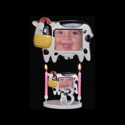 Le porte-photo taureau pour anniversaire