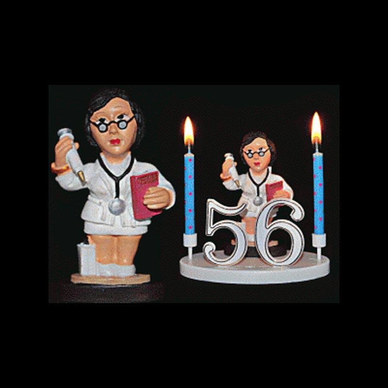 La doctoresse, la gynécologue, la sage-femme etc... pour anniversaire