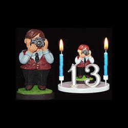 Le photographe, le reporter, le cinéaste, etc... pour anniversaire