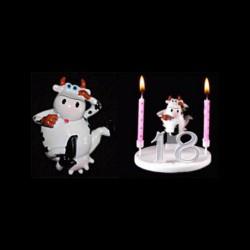 La vache folle danseuse pour anniversaire