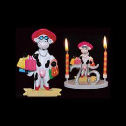 La vache folle Mme La Dépensière pour anniversaire