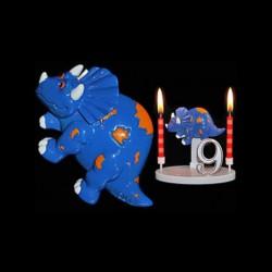 Le tricératops pour anniversaire