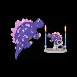 Le stegosaurus pour anniversaire