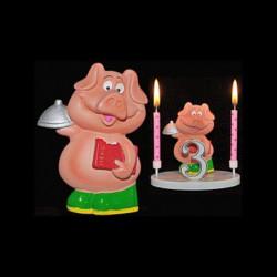 Le cochon serveur pour anniversaire