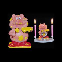 Le cochon gourmand pour anniversaire