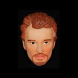 Johnny Hallyday (tête) pour collectionneur