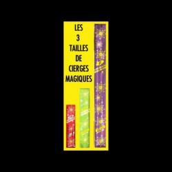 Les cierges magiques 18cm