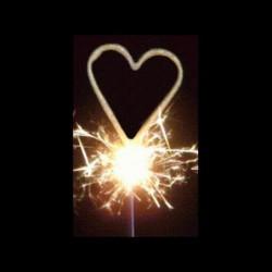 Stick symbole cœur