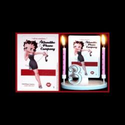 Betty Boop klondike phone company