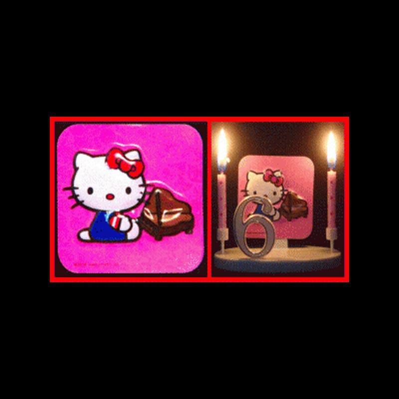 Hello Kitty au piano