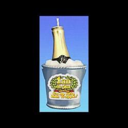 La Bougie Seau à Champagne 1 an de +