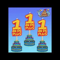 Les 3 Bougies 1 an de +