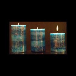 Les bougies trio parfum marine