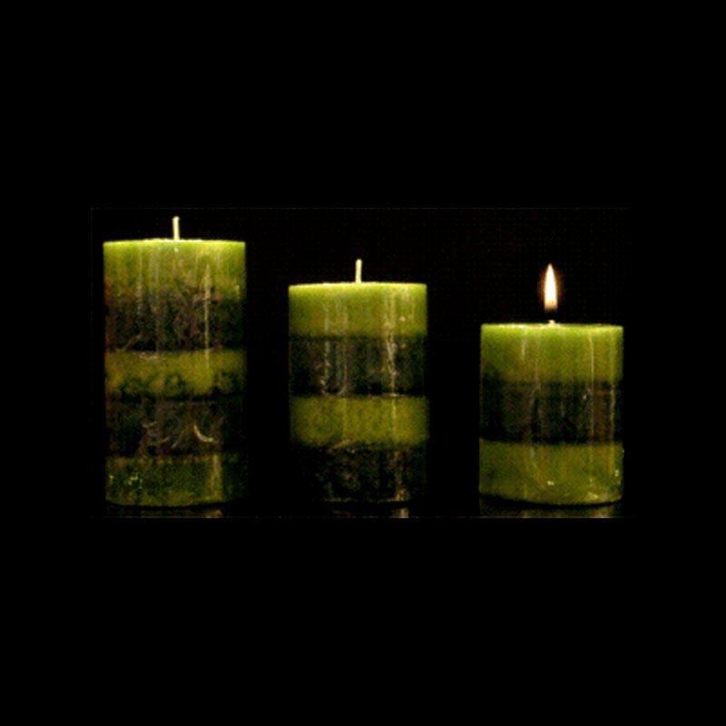 Les bougies trio parfum jasmin