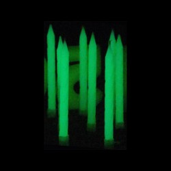 20 Bougies Classiques Phosphorescentes