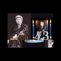 Johnny Hallyday en concert pour anniversaire