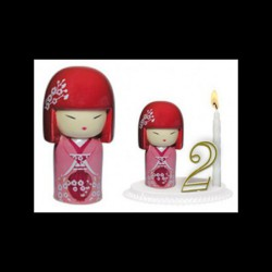Kimmidoll rose pour anniversaire