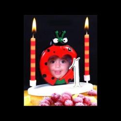 Le porte-photo coccinelle pour anniversaire