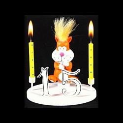 Le Punki chat pour anniversaire