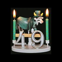 Le taureau fou Mr. Dandy pour anniversaire