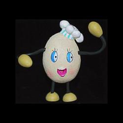 L'œuf à la toque pour anniversaire
