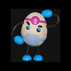 L'œuf médecin pour anniversaire