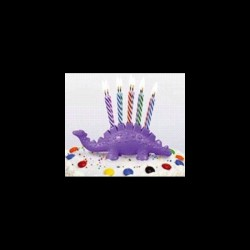 Porte-bougies le petit saurus