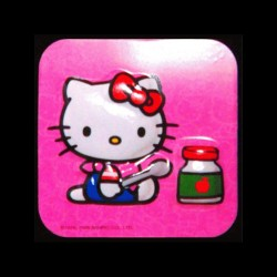 Hello Kitty au pot de confiture