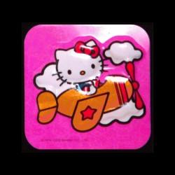 Hello Kitty en avion