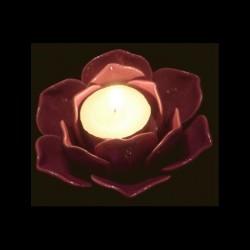 Le bougeoir rose violet/rose
