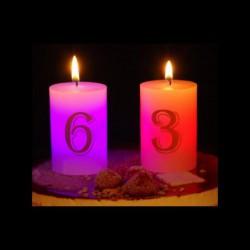 Bougie luminescente n°8