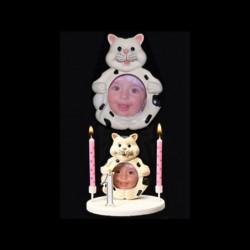 Le porte-photo chat pour anniversaire